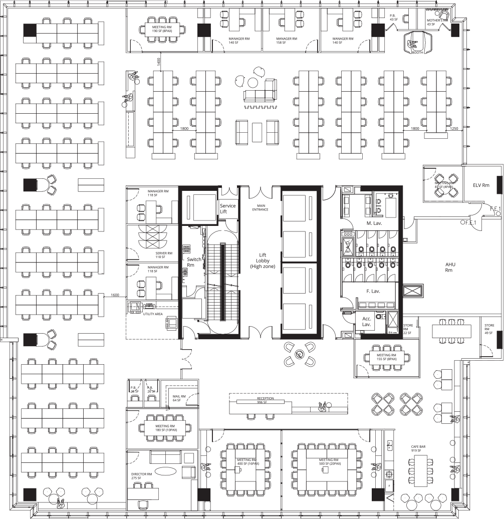 Building Specifications And Floor Plans South Island Place